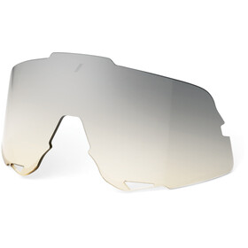 100% Glendale Replacement Lens low-light yellow silver